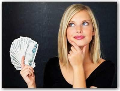 Как женщине накопить деньги