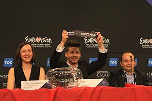 Тео выступит в финале «Евровидения-2014» под вторым номером